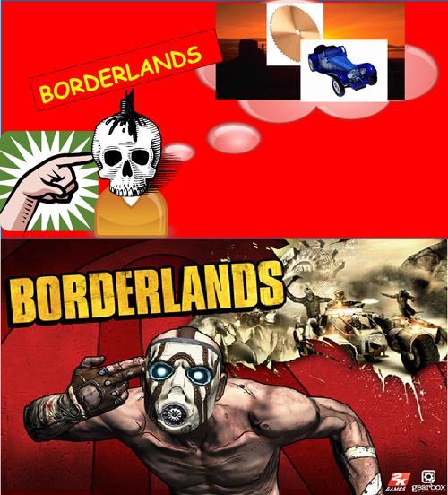 Borderlands Clipart