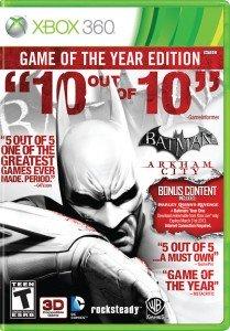 Batman GOTY Cover Clipart