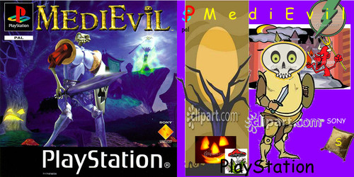 Medievil Cover Clipart