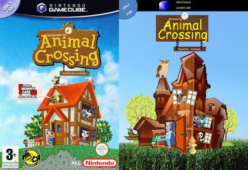 Segab Animal Crossing Cover Clipart