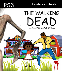 The Walking Dead Cover Clipart