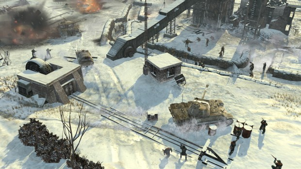 Company of Heroes - 1 - Snowy