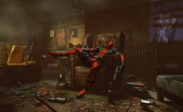 Deadpool - 1 - Chilling