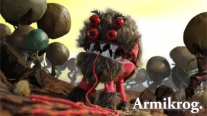 Armikrog Furry Monster