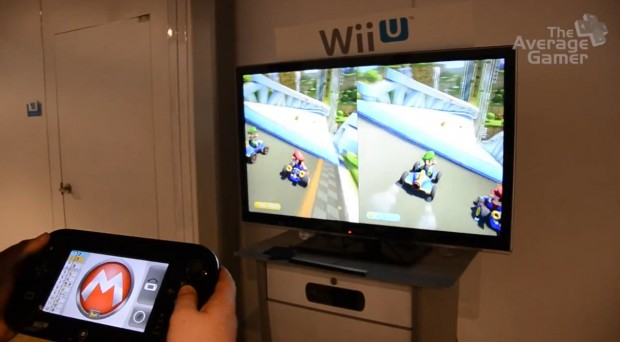 Mario Kart 8 off-screen