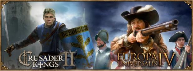 Crusader Kings 2 Europa Universalis 4 banner
