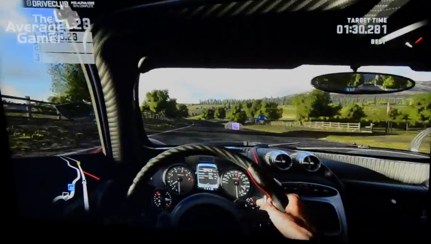 E3 2013 Driveclub Hands On Gameplay PS4