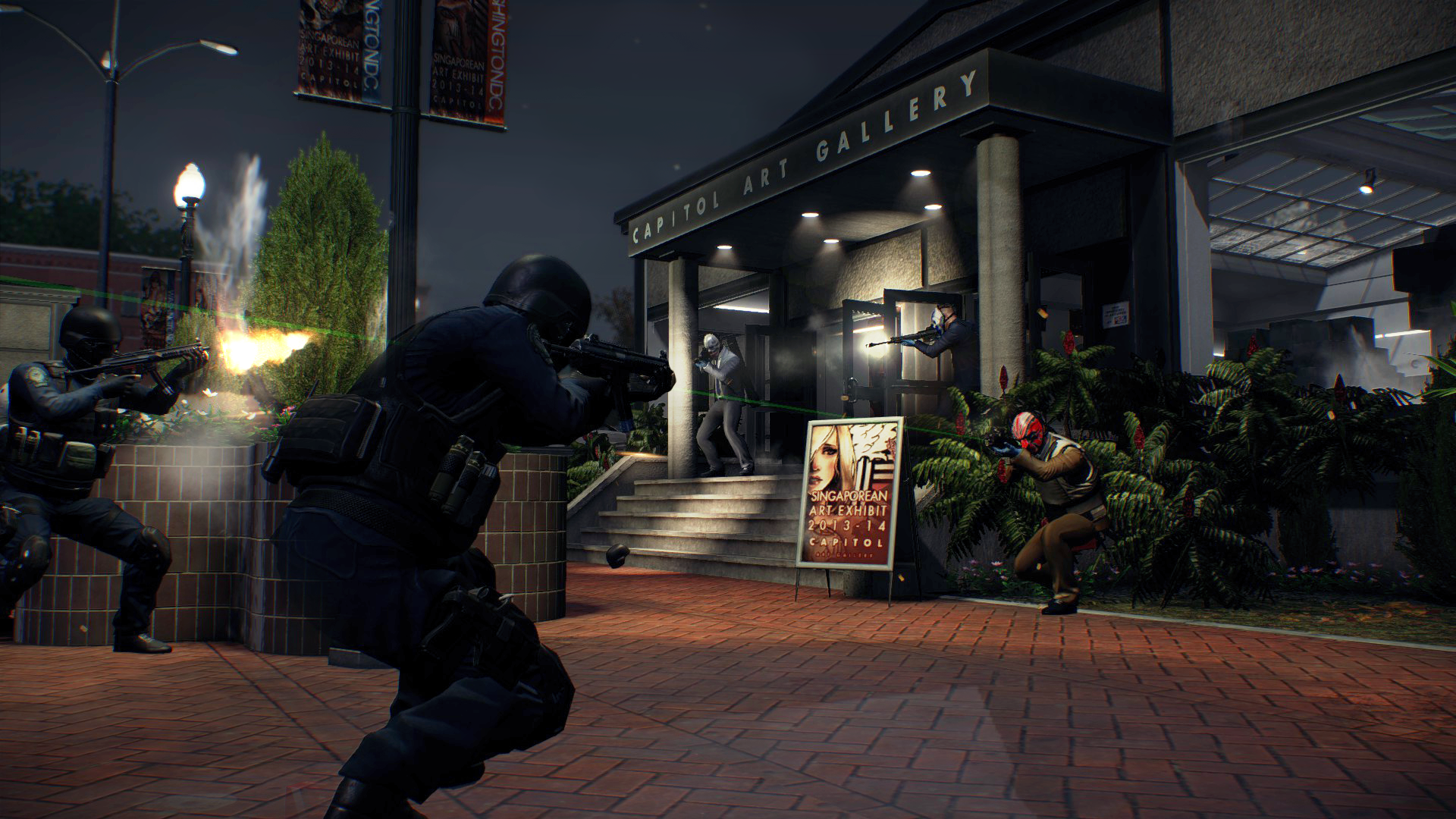 PayDay 2 Hands-on and Interview - The Average Gamer