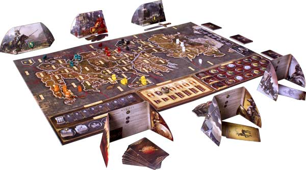 Game of Thrones board