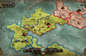 Divinity Dragon Commander Strategic Map