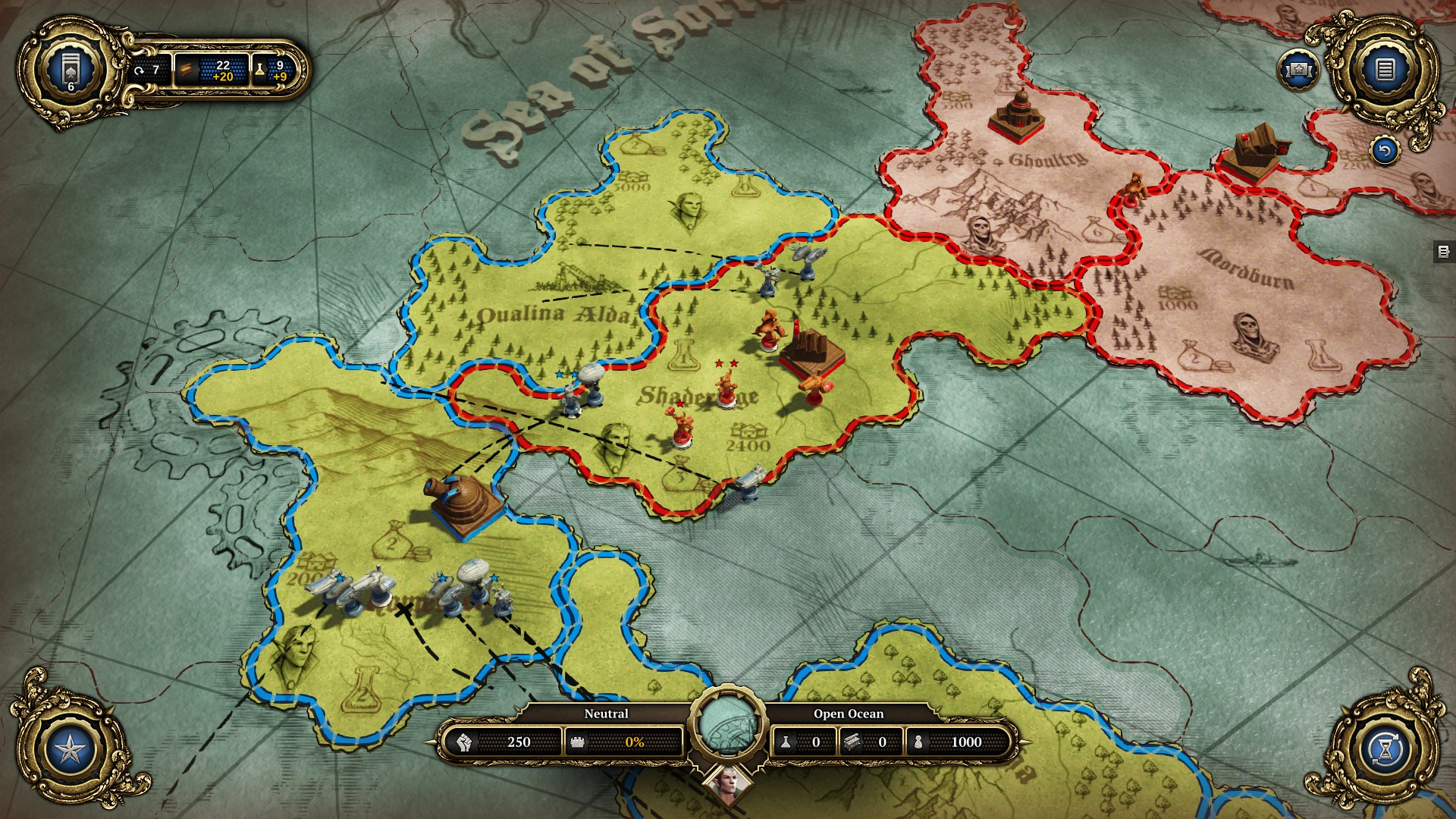 Divinity dragon commander review pc the average gamer divinity dragon commander strategic map gumiabroncs Images