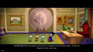 DuckTales Remastered Huey Dewey Louie Scrooge Mansion