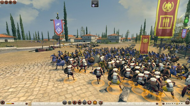 Total War Rome II - Armies Clash