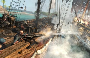 Assassins Creed IV Black Flag Naval Battle