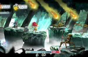 Child of Light - Aurora Combat