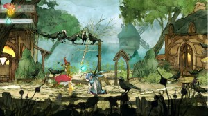 Child of Light - Aurora Village