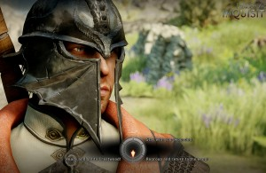 Dragon Age Inquisition -Male  Inquisitor Conversation