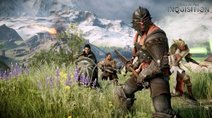 Dragon Age Inquisition -Male Inquisitor and Followers