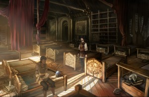Memoria - Mages Dormitory
