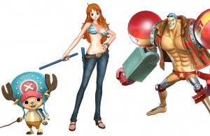One Piece Pirate Warriors Characters