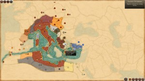 Total War Rome II - World Map