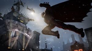 Batman Arkham Origins Gotham City Police Department Helicopter
