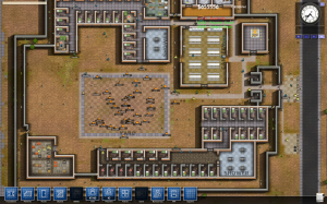 Prison Architect - Overhead Map