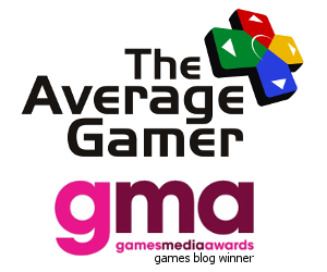 TAG and Games Media Awards logo, games blog finalist