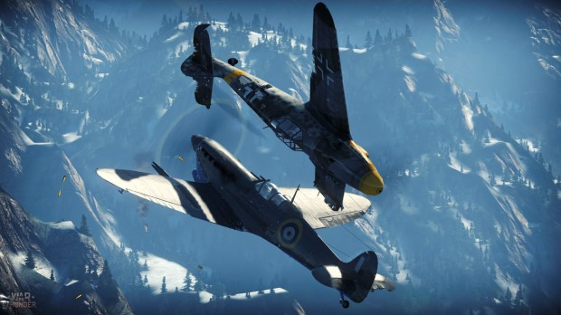 War Thunder - Dog Fighting