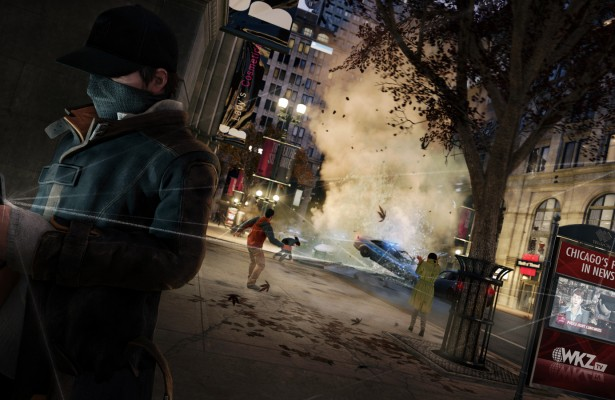 Watch Dogs Steampipe vs Car