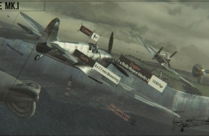 World Of Warplanes - Spitfire Mk1