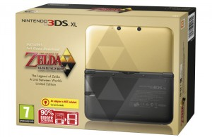 Zelda Link Between Worlds 3DS XL Limited Edition