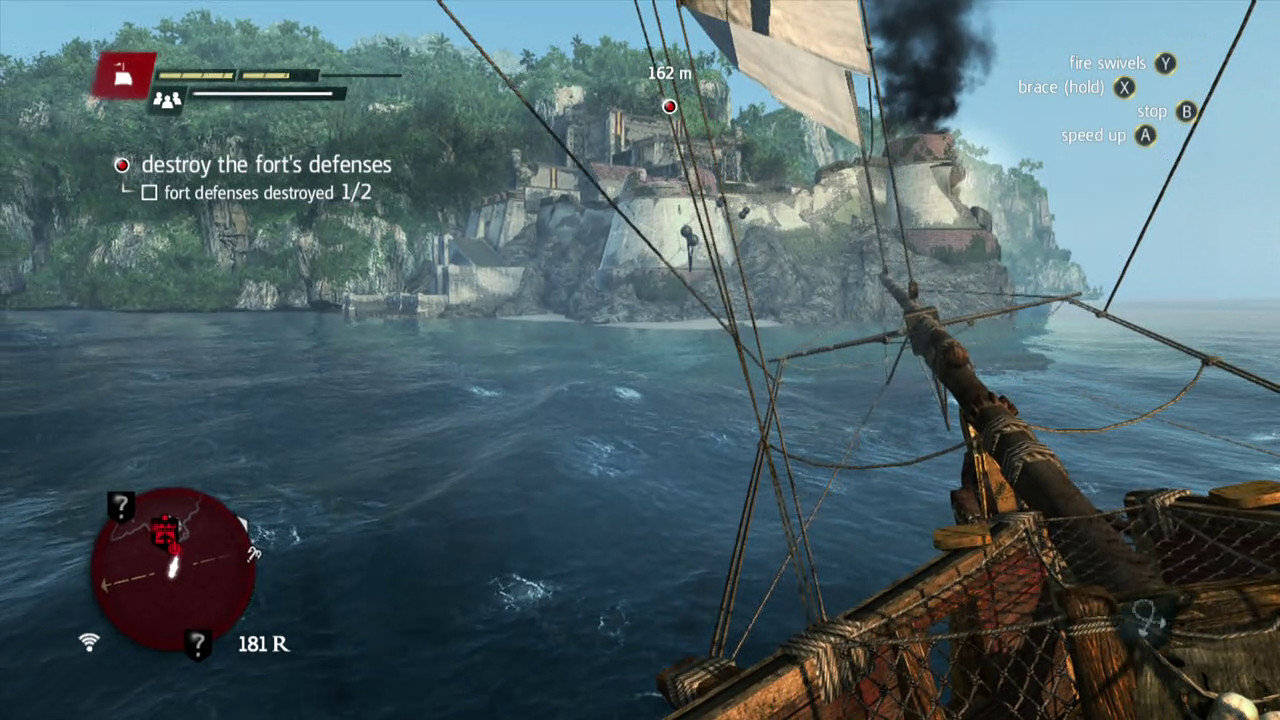 Naval battle tips for assassins creed iv black flag the assassins creed iv black flag fort combat voltagebd Image collections