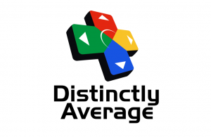 Distinctly Average Logo Wide