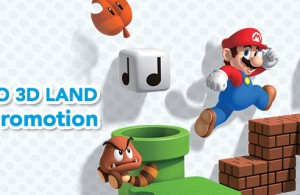 Nintendo Super Mario 3D Land Promotion