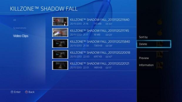 PS4 Delete 3