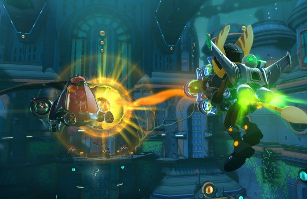 Ratchet Clank Nexus - Haunted City Jetpack