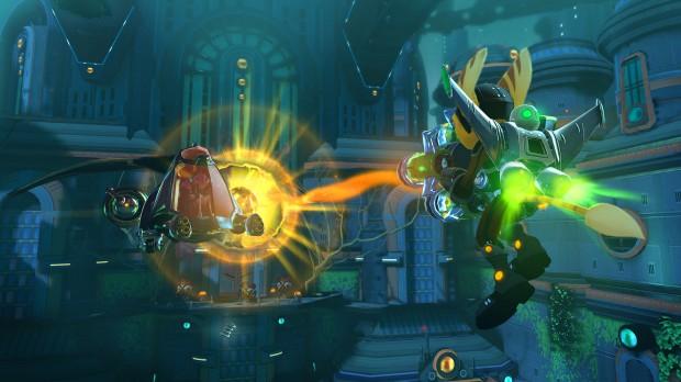 Ratchet Clank Nexus - Haunted City Jetpack