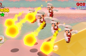 Super Mario 3D World - Five Marios