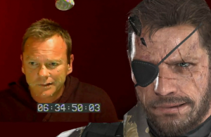 Kiefer Sutherland Snake Metal Gear 5 Ground Zeroes