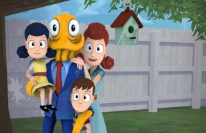 Octodad and Family