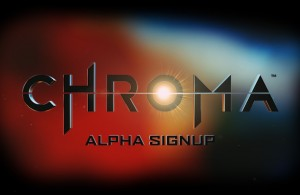 Chroma Alpha Sign-up