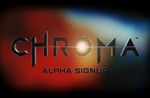 Chroma Alpha Sign-up