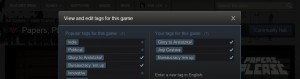 Steam Tags Papers Please
