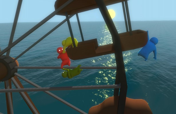 Gang Beasts Ferris Wheel