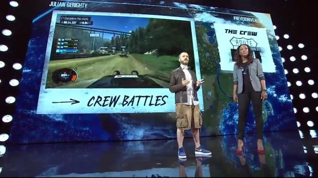 The Crew en la conferencia de ubi en E3 2014