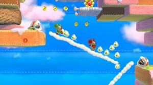 Yoshis Woolly World - Chicken Clouds