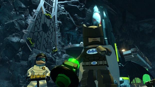 LEGO Batman 3 - Batman Sonar Robin Techno