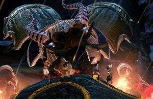 Lara Croft Temple of Osiris - Khepri boss