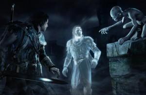 Shadow of Mordor - Talion Celebrimbor Gollum